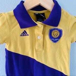 Adidas Orlando City Soccer Short Sleeve Dress 3T